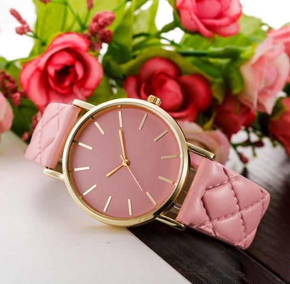 Часы женские Женева розовые