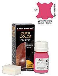 Краситель для гладкой кожи Tarrago Quick Color 25 мл цвет кармин (627)