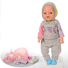 Лялька Пупс BB 8009-445B Маленька Ляля новонароджений з аксесуарами 17