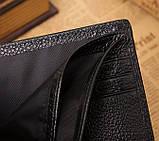 Мужской кожаный кошелек с крокодилом, фото 4