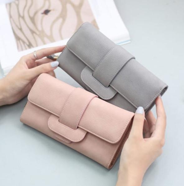 Модний клатч жіночий гаманець шкіра ПУ