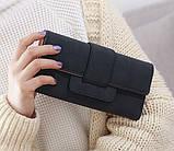 Модний клатч жіночий гаманець шкіра ПУ, фото 3