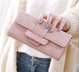 Модний клатч жіночий гаманець шкіра ПУ, фото 5