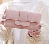 Модний клатч жіночий гаманець шкіра ПУ, фото 7