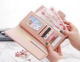 Модний клатч жіночий гаманець шкіра ПУ, фото 9