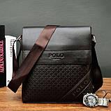 Мужская сумка планшет Поло, фото 2