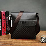 Мужская сумка планшет Поло, фото 4
