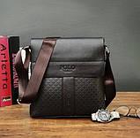 Мужская сумка планшет Поло, фото 5