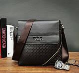 Мужская сумка планшет Поло, фото 6