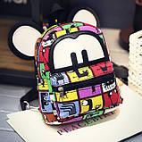 Детские маленькие рюкзаки с ушками, фото 3