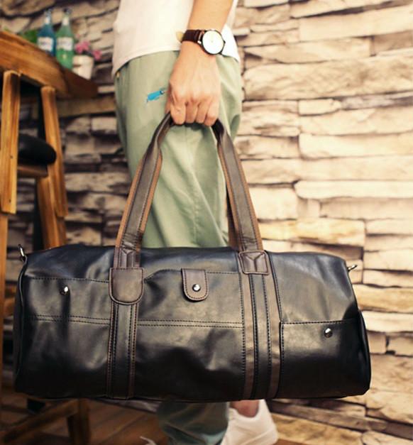 Мужская городская сумка кожа ПУ