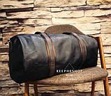 Чоловіча міська сумка шкіра ПУ, фото 3