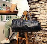 Чоловіча міська сумка шкіра ПУ, фото 4