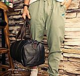 Мужская городская сумка кожа ПУ, фото 5
