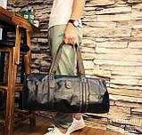 Мужская городская сумка кожа ПУ, фото 7