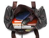 Чоловіча міська сумка шкіра ПУ, фото 8