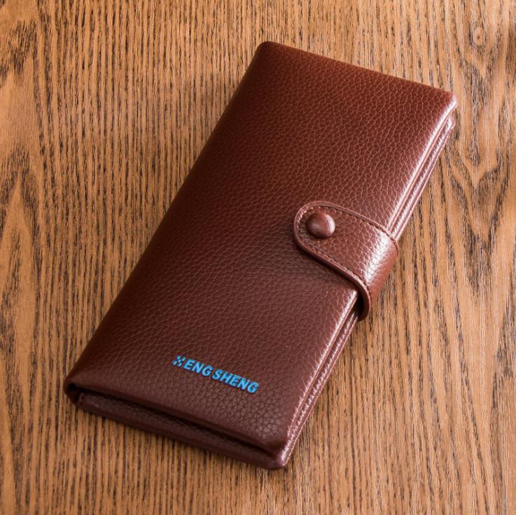 Вертикальний чоловічий гаманець