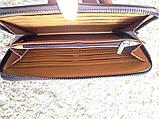 Чоловічий клатч гаманець Polo чорний, фото 2