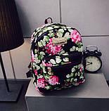 Дитячий рюкзак з квітами, фото 2