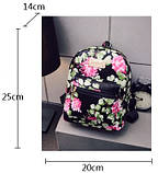 Детский рюкзачок с цветами, фото 7