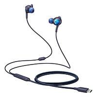 Навушники вакуумні провідні з мікрофоном Samsung ANC Type-C Earphones IC500 Black (EO-IC500BBEGRU)