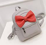 Рюкзак детский с бантиком, фото 2