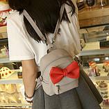 Рюкзак детский с бантиком, фото 3