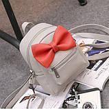 Рюкзак детский с бантиком, фото 4