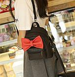 Рюкзак детский с бантиком, фото 5