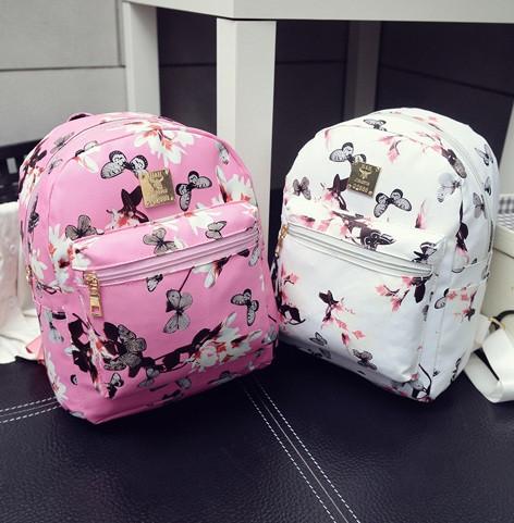 Рюкзачок детский с цветами