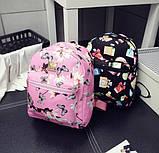 Рюкзачок детский с цветами, фото 2