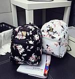 Рюкзачок детский с цветами, фото 3