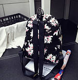 Рюкзачок детский с цветами, фото 4