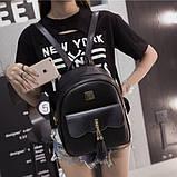 Женский городской рюкзак эко кожа, фото 3