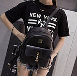 Женский городской рюкзак эко кожа, фото 5