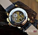 Чоловічий механічний годинник Winner, фото 3