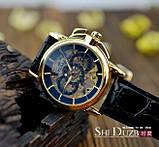 Чоловічий механічний годинник Winner, фото 5