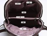 Классический женский городской рюкзак, фото 4