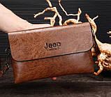 Чоловічий клатч барсетка Jeep, фото 2