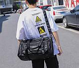 Якісна міська чоловіча сумка, фото 3