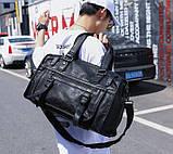 Якісна міська чоловіча сумка, фото 6