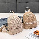 Маленький детский рюкзачок плетеный, фото 3