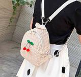 Маленький детский рюкзачок плетеный, фото 4