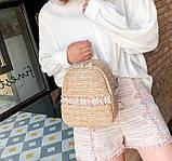 Маленький детский рюкзачок плетеный, фото 6