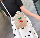 Маленький детский рюкзачок плетеный, фото 7