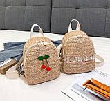 Маленький детский рюкзачок плетеный, фото 8