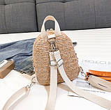 Маленький детский рюкзачок плетеный, фото 9