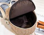 Маленький детский рюкзачок плетеный, фото 10