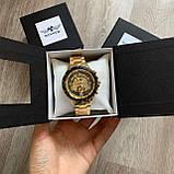 Чоловічий наручний годинник Winner Gold механіка в коробці, фото 2