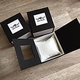 Чоловічий наручний годинник Winner Gold механіка в коробці, фото 8